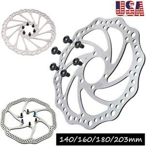 140-160-180-203mm-Rotor-De-Freno-De-Disco-Para-Bicicleta-De-Bicicleta-De-Montana-Bicicleta-nos-Rotor