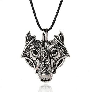 Norse-Vikings-Pendant-Necklace-Norse-Wolf-Head-Necklace-Original-Animal-Jewelry