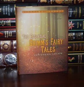 Essential-Grimm-039-s-Fairy-Tales-by-Brothers-Grimm-New-Deluxe-Hardcover-Classics