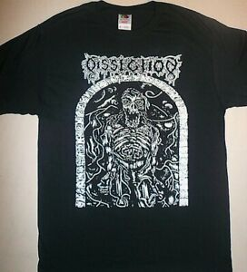 DISSECTION-Grief-Prophecy-T-SHIRT-demo-art-Watain-Bathory-Black-Metal-venom-s-xl