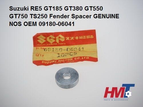 Suzuki RE5 GT185 GT380 GT550 GT750 TS250 Fender Spacer 6.5x20x5 NOS 09180-06041