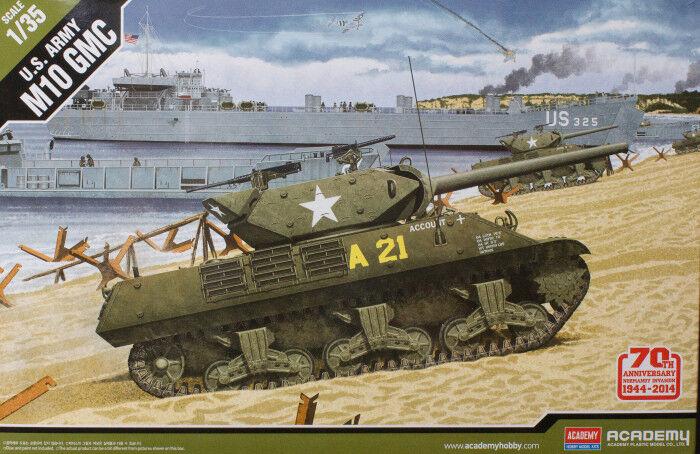 Academy 13288 1 35th scale U.S. Army M10 GMC 70th Anniversary Normandy Invasion