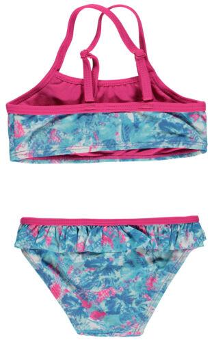 Pampolina® Mädchen Bikini Badeanzug Bunt Rüschen Gr 98-152 S NEU!