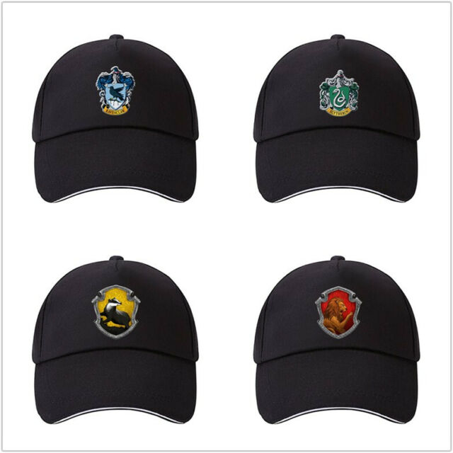 e040702fec5ac Harry Potter cotton cap Adjustable snapback Slytherin Ravenclaw baseball  dad hat