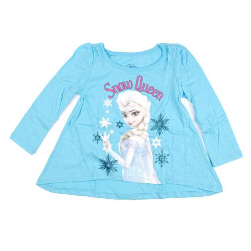 Disney Frozen Girls Blue Long Sleeve T-Shirt