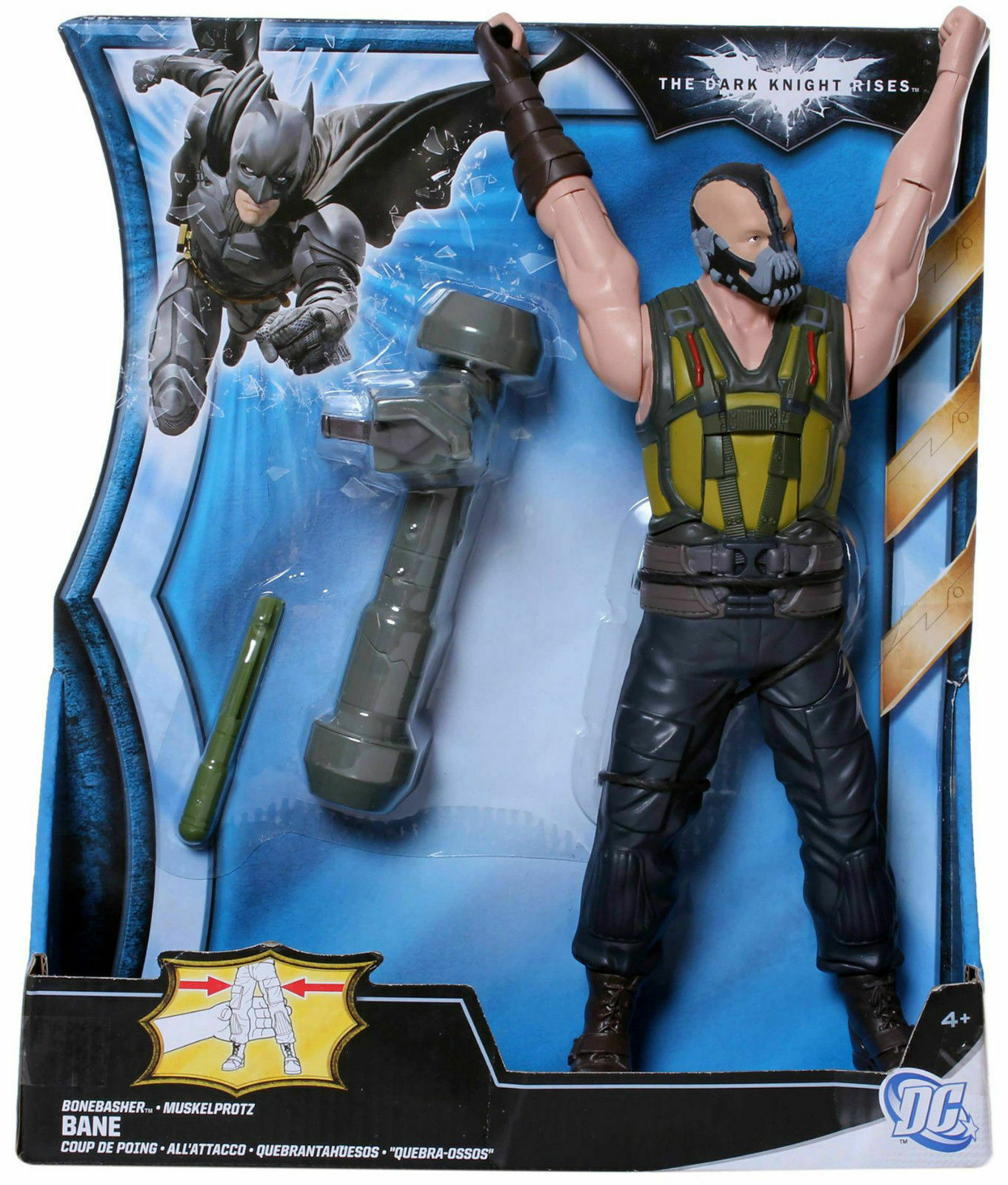 Batman The Dark Knight Rises Deluxe Action Figure - Bonebasher