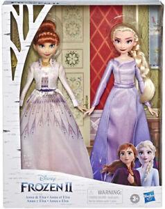 Disney Frozen 2 Elsa and Anna Fashion Doll Set