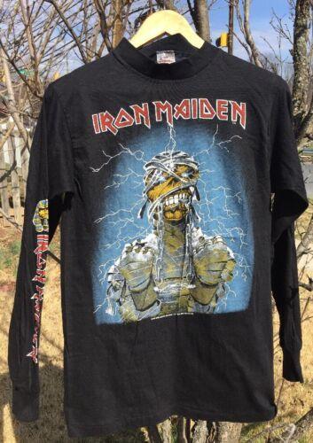 Vintage 80s Iron Maiden Concert World Slavery Tour