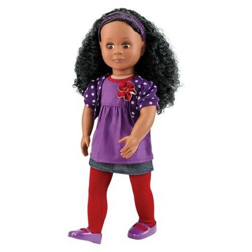 """Our Generation 18"""" Non Poseable Doll - Abrianna"""