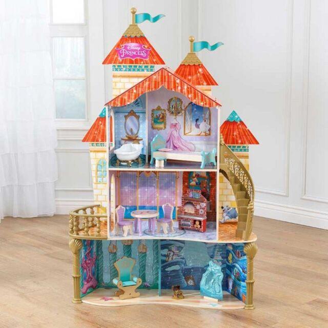 Kidkraft Disney Princess Ariel Land to Sea Castle Dollhouse