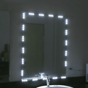 Makeup-Dressing-Mirror-10ft-60-LED-Strip-Bar-Vanity-Lamp-Flexible-Light-w-Remote