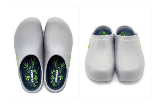 ESCOFFIER Unisex Waterproof Slip Resistant Kitchen Chef Clog Non Slip Work shoes