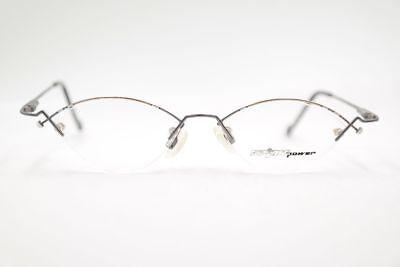 Der GüNstigste Preis Vintage Spirit Power 2042 48[]15 130 Grau Halbrand Brille Brillengestell Nos SpäTester Style-Online-Verkauf Von 2019 50%