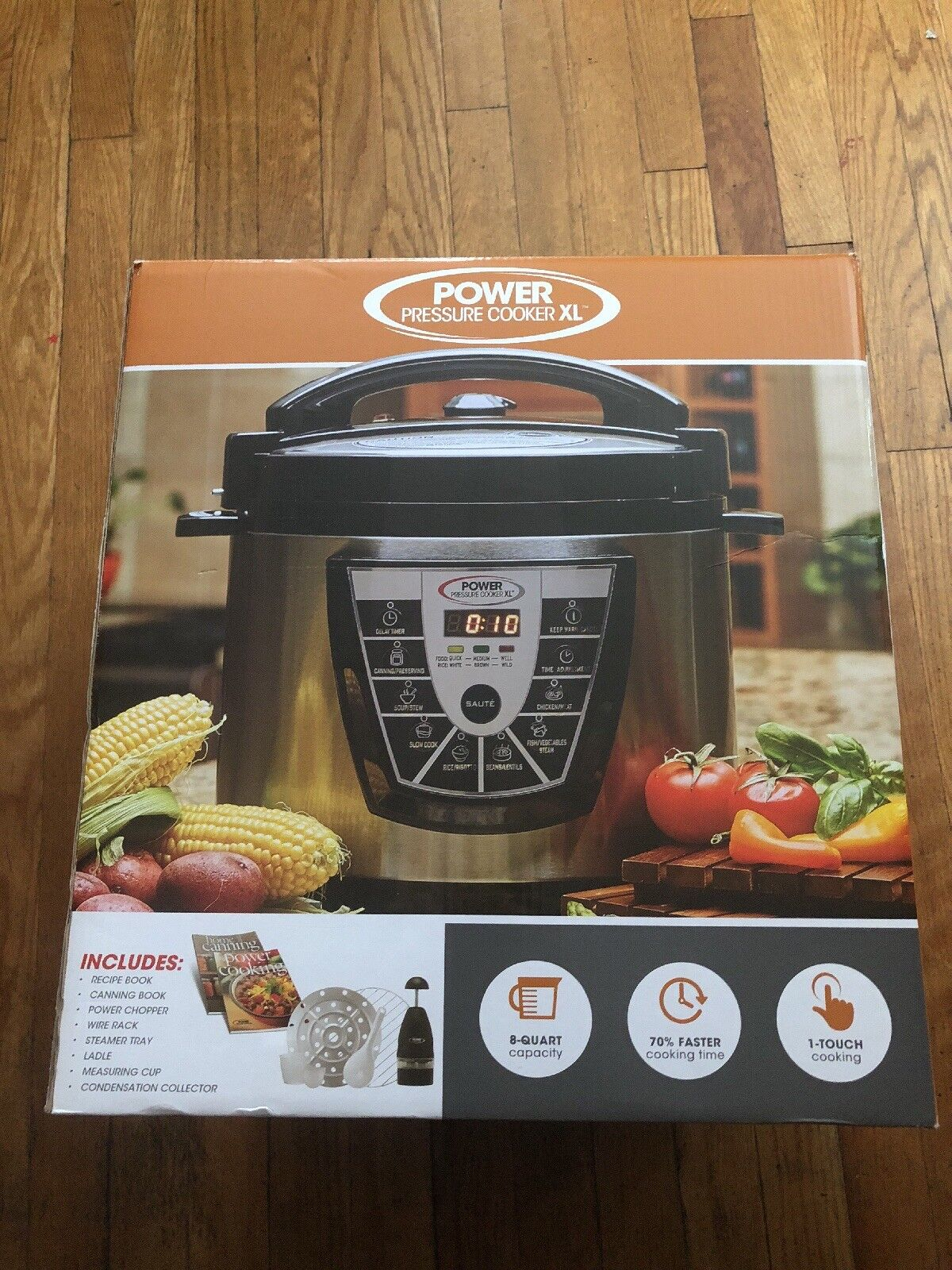Power pressure cooker xl 8 qt