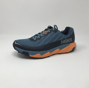 NEW-Mens-D-M-MEN-039-S-HOKA-ONE-ONE-TORRENT-Blue-Orange-Running-Shoes-r1