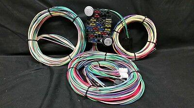 Rat Rod Universal Wiring Harness 21 Circuit