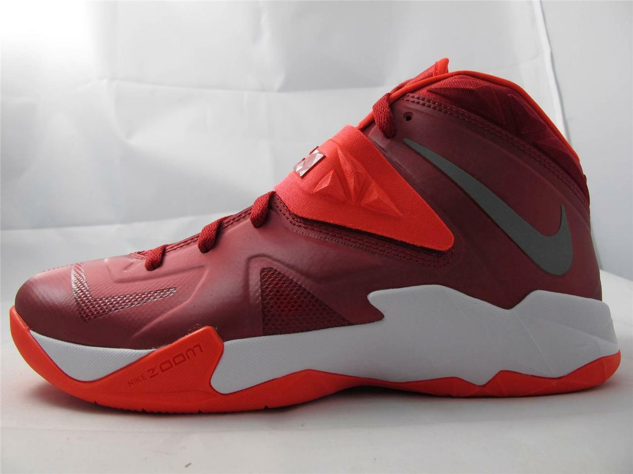 New Mens Nike Lebron Zoom Soldier VII TB Turnschuhe 599263-600