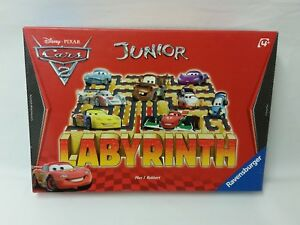 Junior-cars-2-laberinto-Disney-rara-salida-Ravensburger-Max-J-kobbert