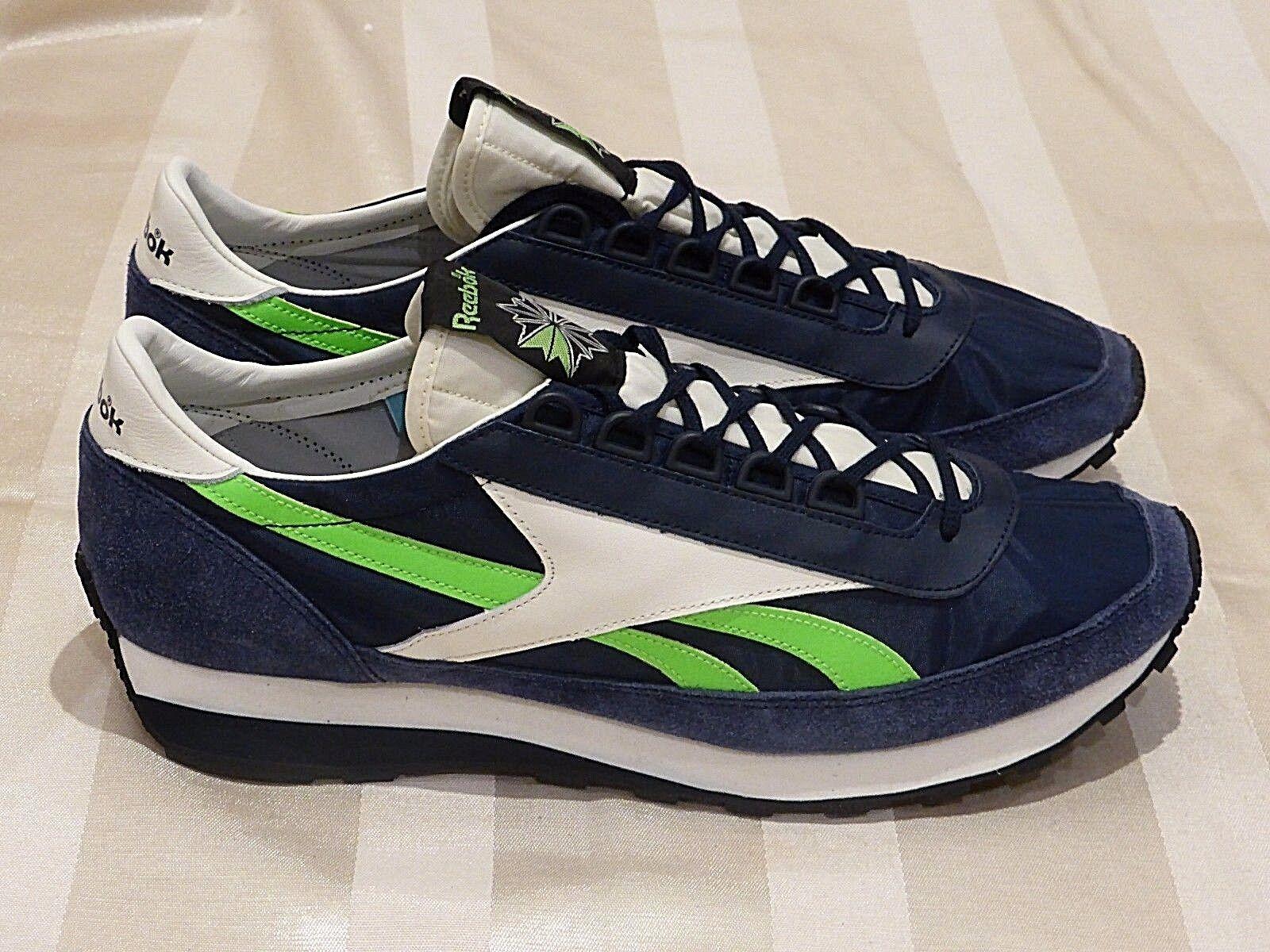 30f543de4ef52 REEBOK Aztec OG Suede 'Collegiate Navy White' Limited (12US) pump ultra air  90 omcdsj4479-Casual Shoes