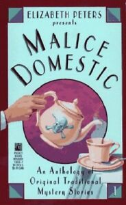 Complete-Set-Series-Lot-of-10-Malice-Domestic-Mystery-Anthology-Peters-Clark