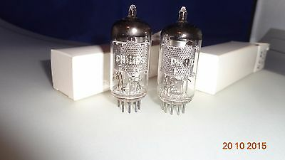 Philips Pair by Valvo Mesh plates EF86 NOS 2 pcs for NEUMANN U67 , Vox AC15 oth.