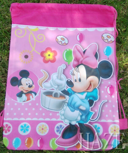 Hot Diseny Mickey Non-Woven Drawstring Bag For Kids Cute Backpack Hot