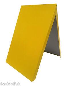 A-BOARD PAVEMENT SIGN MENU SANDWICH BOARD FOR A2 SIZE POSTERS ORANGE
