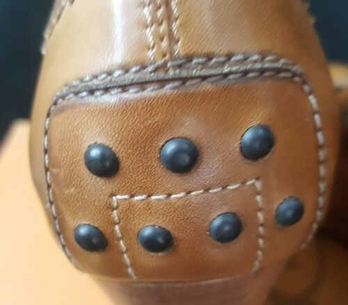 Tod's Mocassino Shoe 37 Penny Cognac Loafer Newze Zeppe 5 Decollete Donna Woman fwpxqr7f