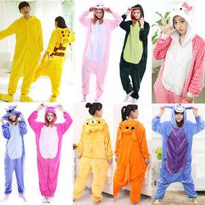 777bebd77 Unisex Adult Pajamas Kigurumi Fancy Cosplay Costume Animal ...