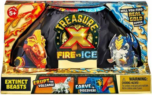 TREASURE X Fire vs Ice Extinct Beasts Pack New Version