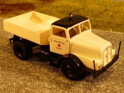 1//87 Brekina IFA h6 rdc tractor con ballastpritsche