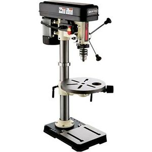 "... HP Oscillating Bench Top Drill Press w/ 5/8"" Chuck W1668 New 