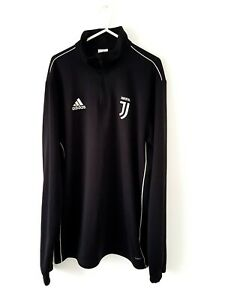 Juventus Training Jumper. Large. Official Adidas. Black Adults Football Kit L.