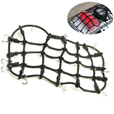 RC Car Roof Rack Cargo Elastic Luggage Net W/ Hooks for 1/10 Scx10 D90 Crawler