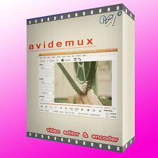 VIDEO & MOVIE EDITOR for Windows, edit MPEG, DVD, AVI + custom subtitles & more!