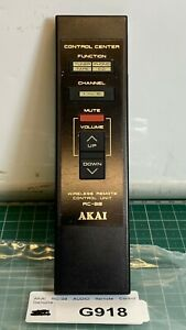 GENUINE-AKAI-RC-S8-Audio-Remote-Control-Tested-Working-Very-Good-Condition