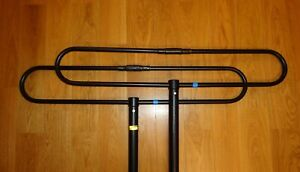 Details about VHF Antenna 2-element folded dipole array 136-174 mHz, 5 6  dBd 200W