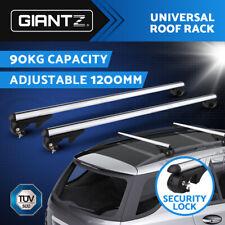 Giantz Universal Car Roof Rack Rail Cross Bars Aluminum Alloy Lockable  1200MM