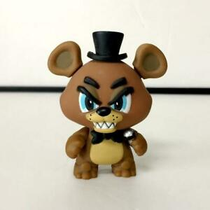 "Mystery Minis FNAF Five Nights at Freddy's Freddy Vinyl Figure 2"" BIN"