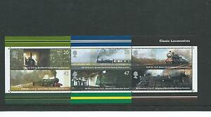 GB MINIATURE SHEET - 2004 - CLASSIC LOCOMOTIVES - UNMOUNTED MINT