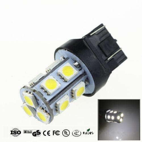 2Pcs T20//7440//7443// 5050-13SMD DC 12V LED White Car Reverse Fog Light Bulb Lamp