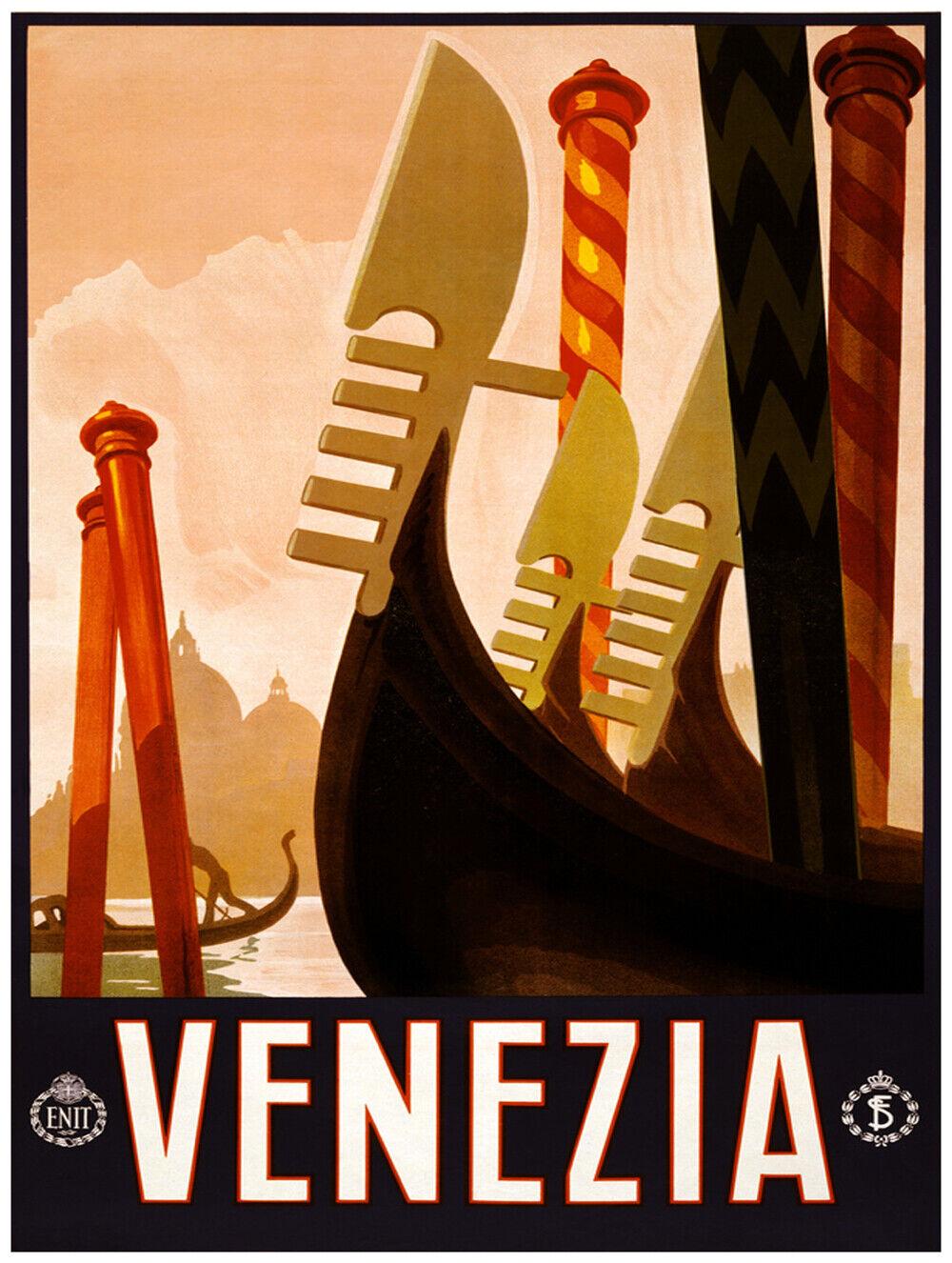 7591.Decoration Poster.Home Room wall art design print.Venezia.Venice.