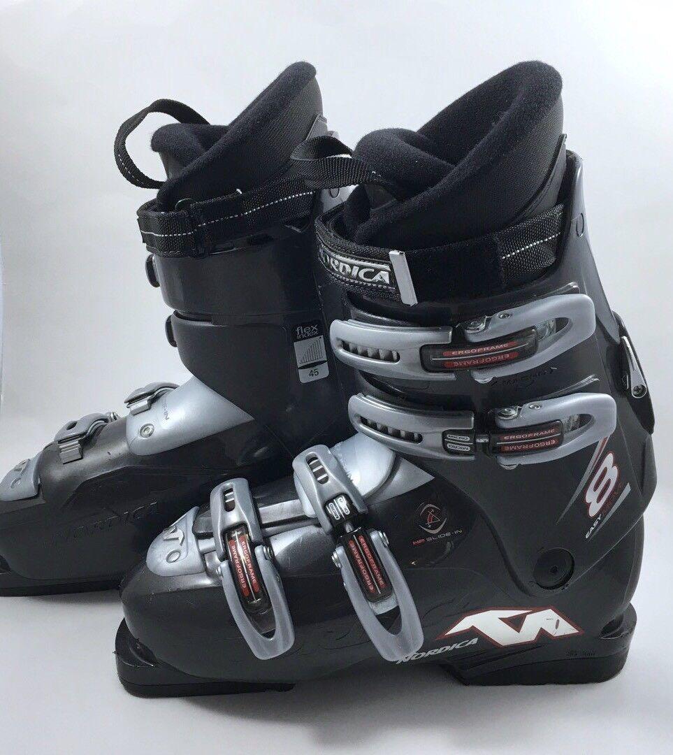 Men's Nordica Easy Move Ski Boots 26.5 Mondo Mens 8.5 Comfort Fit Walk Mode