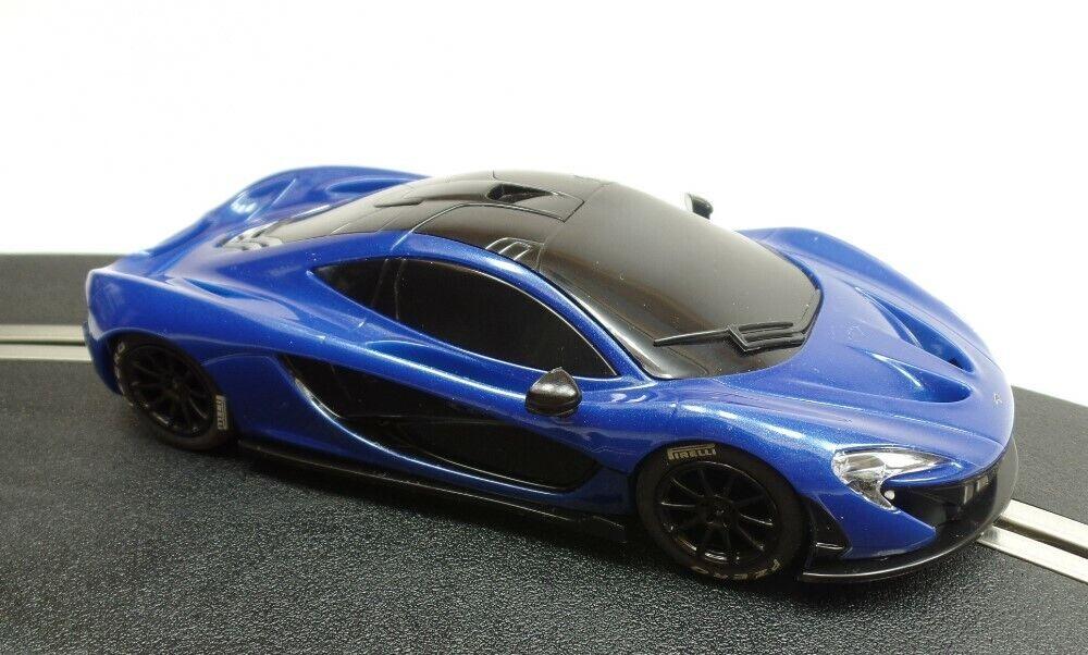 Scalextric Hornby Auto 1 1 1 32 McLaren P1 blue Ohne Light SXC® 5409c1