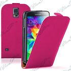 Etui Coque Housse PU Vrai Rabat Samsung Galaxy S5 Neo SM-G903F/ S5 LTE-A G906S