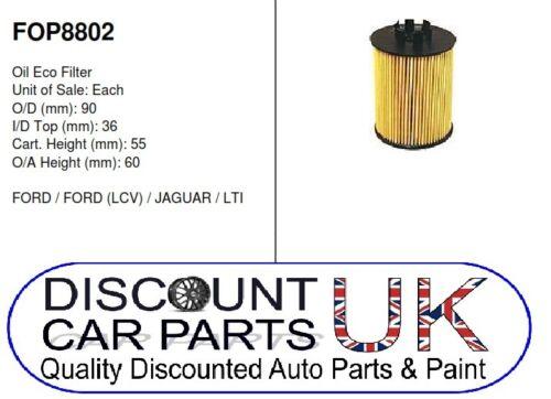 00-07 2.0 TDCi 130 16v 1998cc Diesel O.E QUALITY OIL FILTER  Ford Mondeo Mk 3