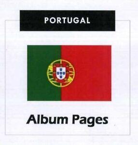 Portugal-CD-Rom-Stamp-Album-1853-2015-Album-Pages-Classic-Stamps-Illustrated