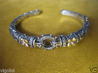 Bracelet Barbara Bixby 18k Ss Cuff Bangle Charm Ring Flower Designer Gift