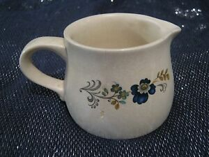 Lovely-Purbeck-Ceramics-Swanage-Milk-Jug-Floral-design-approx-2-ins-tall