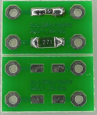 0603/1206 Adapterplatine 30er Set (15 Platinen Je 2 Adapter)